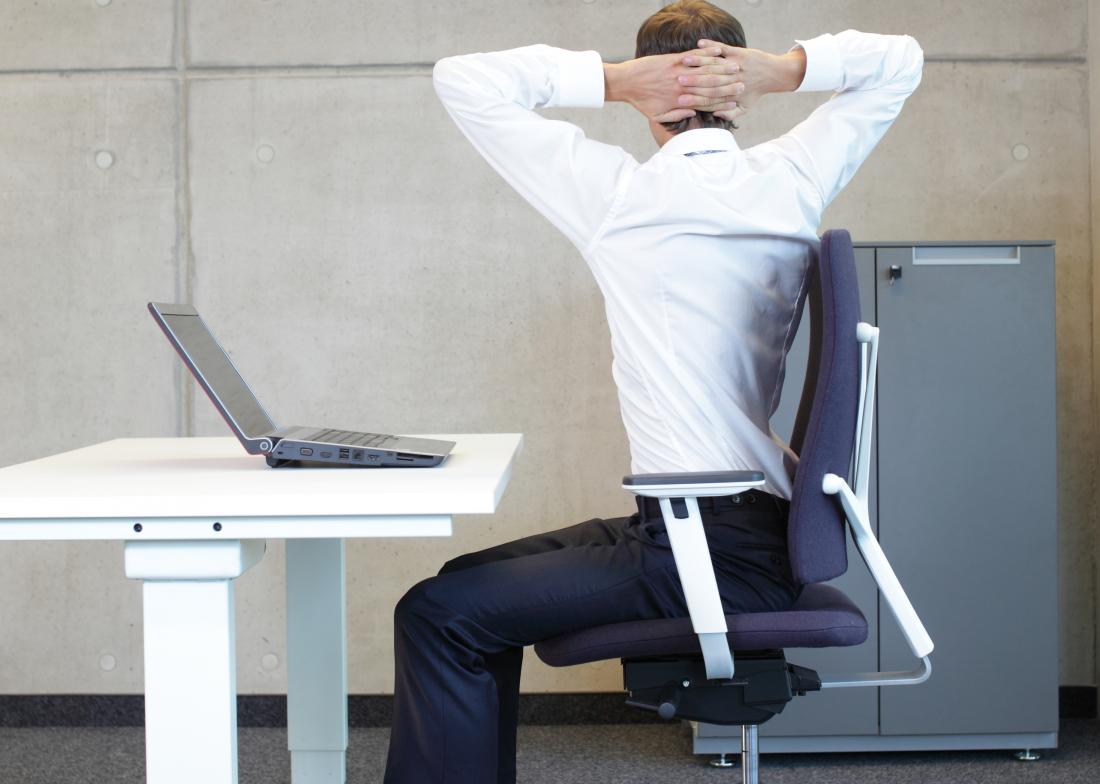 How to prevent back pain when working in an Office?